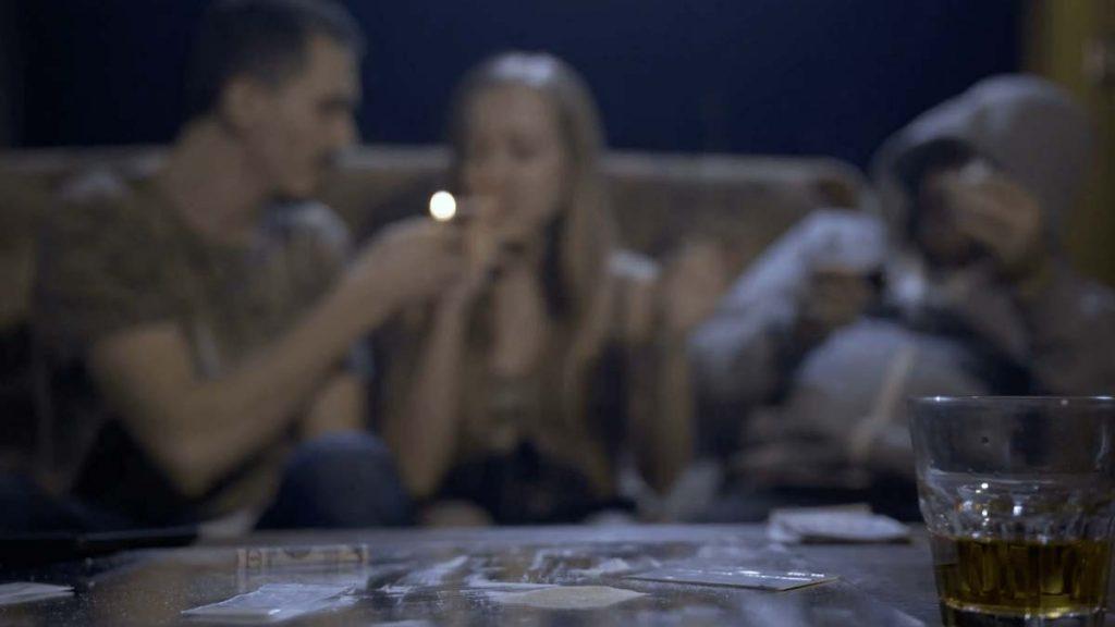 personas con adicción a la cocaína