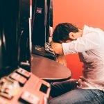 familiar con ludopatia en centro de desintoxicación