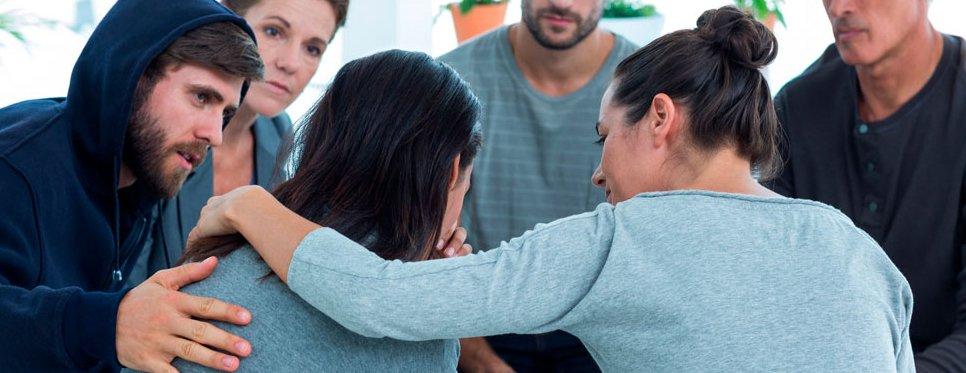 grupo terapéutico como los de Proyecto Hombre