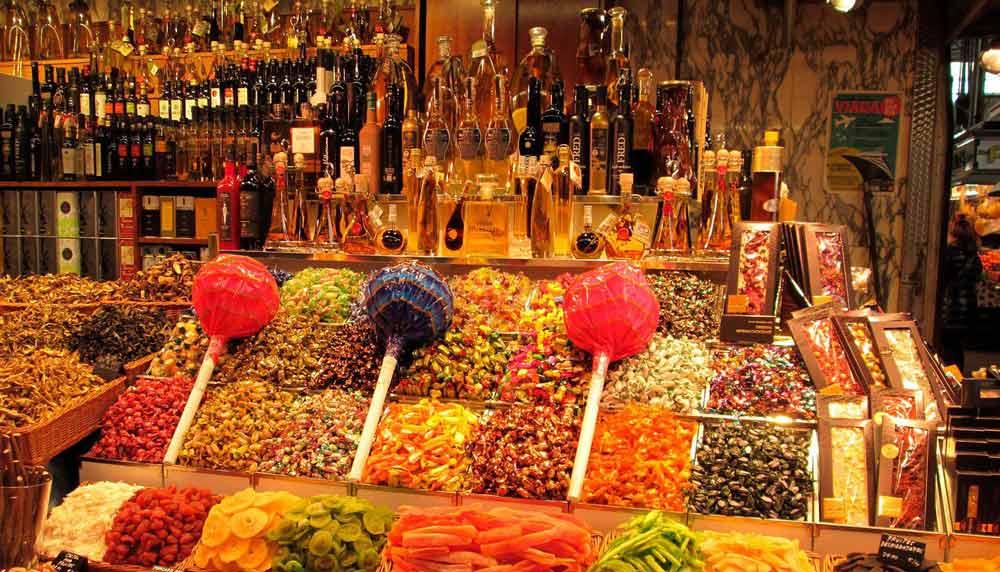 Mercat Boquería. Barcelona.